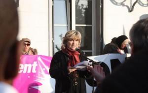 Sylvie Altman maire de Villneuve sait georges