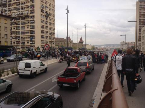 Marseille 5 4 2016 A7 boquée