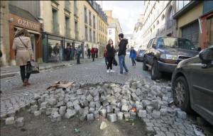 Rennes 31 3 2016 - sous les pavés les flics