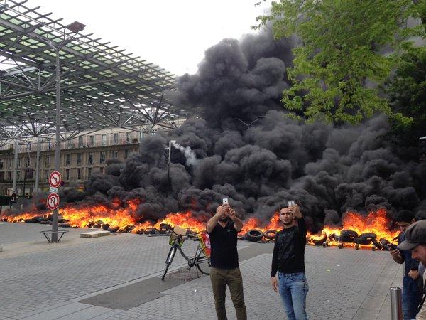 Amiens 26 mai 2016 la gare