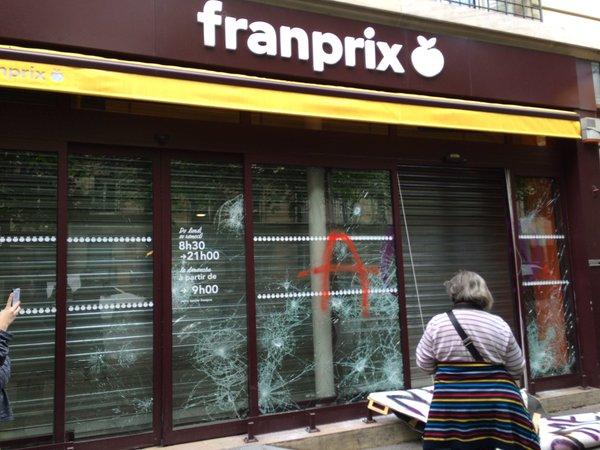Paris 26 5 2016 Franprix