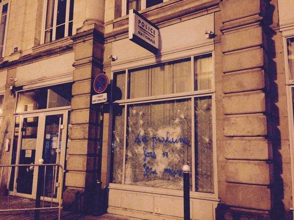 Ni loi ni travail rennes l assaut de la ville attaque - France pare brise rennes ...