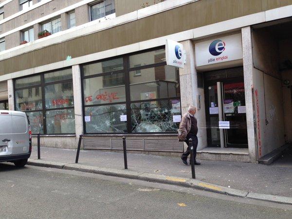 Pole emploi rue Vicq d'Azir
