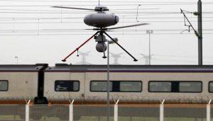drones Eurotunnel
